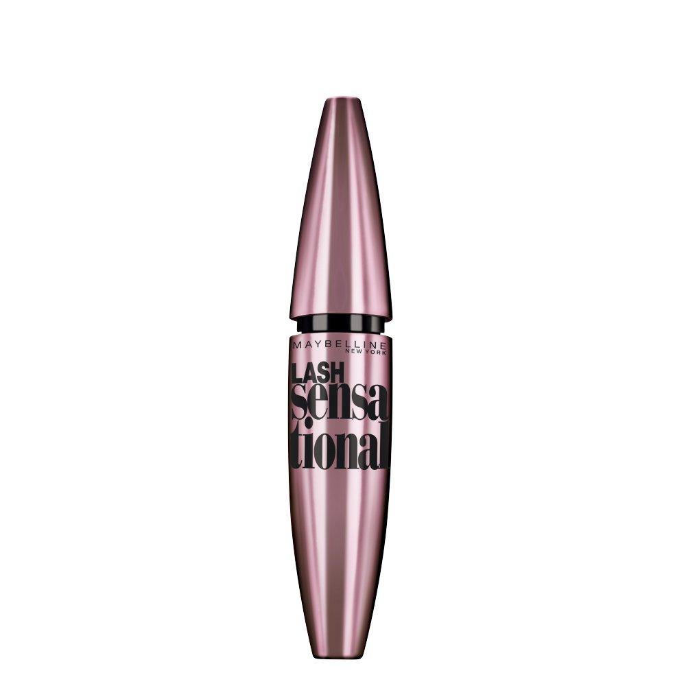 Maybelline Makeup Lash Sensational Washable Mascara, Blackest Black, 0.32 fl oz
