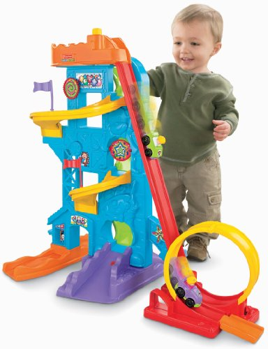 fisher price little people loops n swoops amusement park amazon exclusive