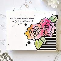 LPxdywlk Troqueles De Corte con Forma De Flor DIY Scrapbooking En Relieve Tarjeta De Papel Craft Stencil Molde Traje para El Día De La Madre/Maestro/Mujer Plata: Amazon.es: Deportes y aire libre