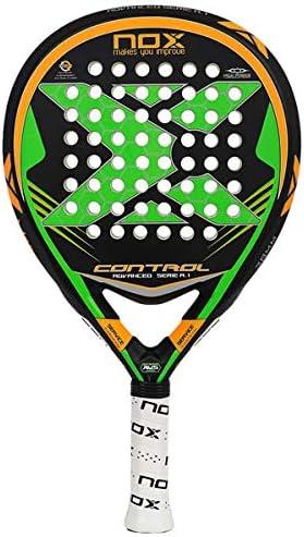 NOX Control A.1 Pala de pádel, Unisex Adulto, Verde: Amazon.es ...