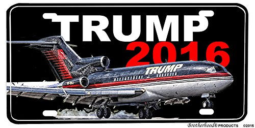 Donald-Trump-Jet-President-2016-License-plate