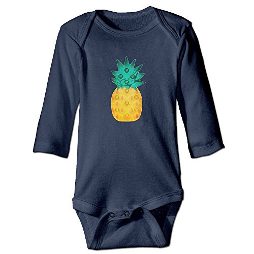 Price comparison product image Pineapple Light Baby Girl Long Sleeve Bodysuits 6 M