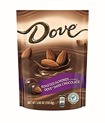Dove Dark Chocolate Covered Almond Candy Pouch, 5.5 Ounce from Mars Snackfoods