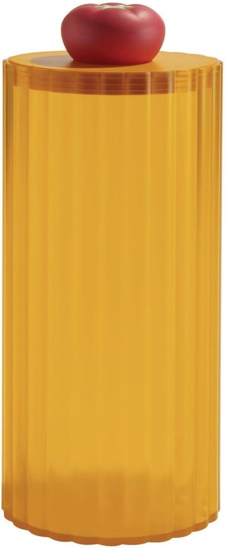 Alessi ASG15 I Rigatone Barattolo per Spaghetti in Resina Termoplastica Ghiaccio