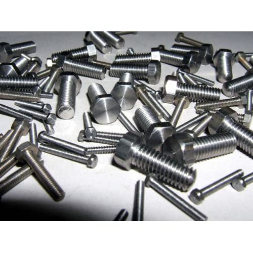 Tornillos de acero inoxidable hexagonal M6 x 12 mm