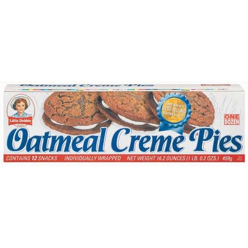 Little Debbie Oatmeal Creme Pies (1 Case of 12 Boxes)