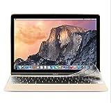 Masino Silicone Keyboard Cover Ultra Thin Keyboard Skin for MacBook 12