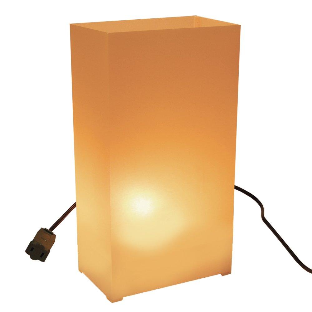 LumaBase Luminarias Electric Luminaria Kit- Tan- 10 Count, new