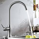 MDRW-Kitchen Faucet Sink Dish Basin Hot And Cold Faucet 304 Stainless Steel Unleaded