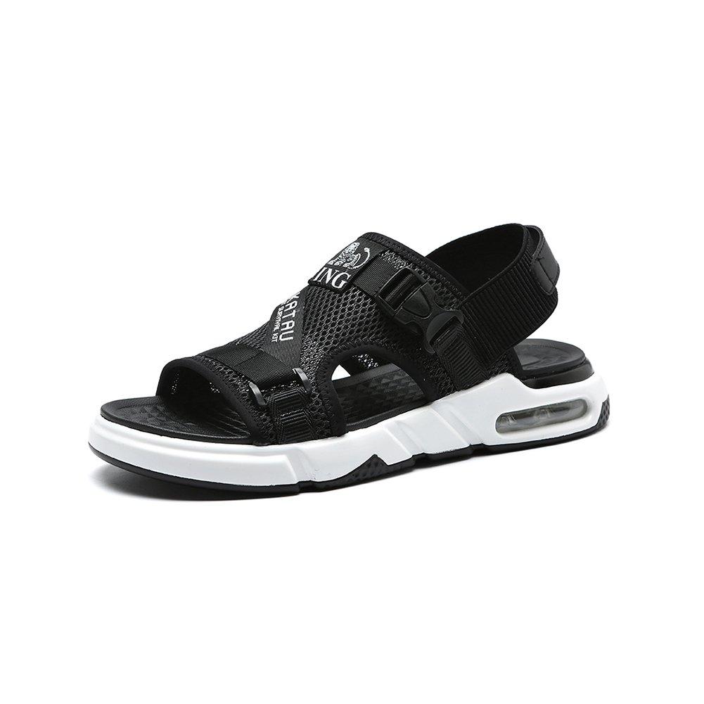 WYYY Calzado De Hombre Sandalias Temporada De Verano Doble Uso Fondo Suave Punta Abierta Malla Sandalias Exterior Zapatos De Playa Zapatos Casuales Sandalias De Playa (Tamaño : EU39/UK6.5) EU39/UK6.5