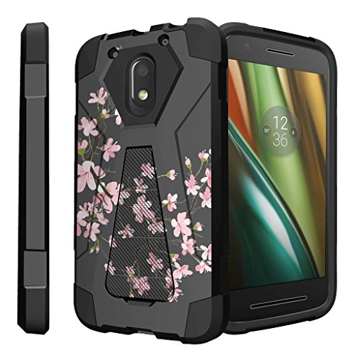 Untouchble Case for Motorola Moto G4 Play Case | [G4 Play] Case [Traveler Series] Shock Absorbing Drop Protection Dual Layer Case - Pink Cherry Blossoms