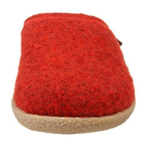 Giesswein Veitsch 52/10/47848 - Pantuflas de fieltro unisex Rojo (Rot (chilli 342))
