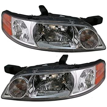 Georgie Boy Pursuit 1999-2000 RV Motorhome Pair Replacement Front Headlights with Corner Lamps 4PC Set Left /& Right