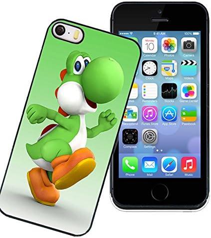 [FiveVer] iPhone 5 5s SE Coque - Jeu Pomme Yoshi Game Boy - Phone 5 5s SE Housse Back Case Yoshi
