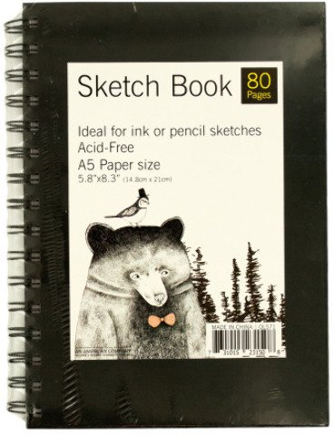 Wire Bound Sketch Book - Pack of 12