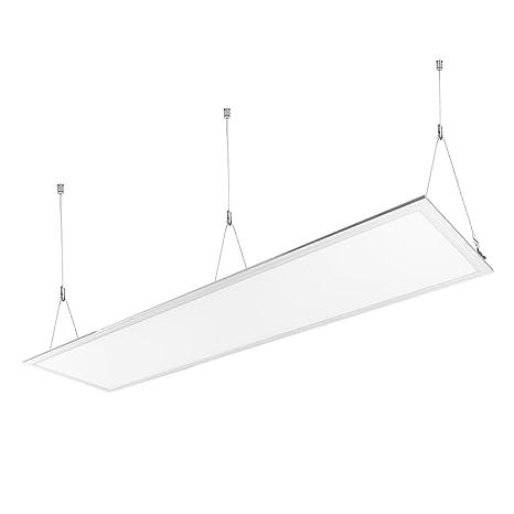 LE Panel LED, lámpara de techo, 40W Equivalente 80W Fluorescente Blanco neutro 4000K 4000 lúmenes, Luz de techo Oficina Salón Cocina