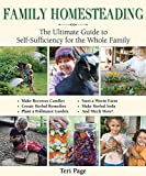 Practical advice and hands-on projects for the self-sufficient family In an increasingly digital world, families are looking for ways to deepen their connection to one another and to the land. The Family Homestead is a guide to a simpler life...