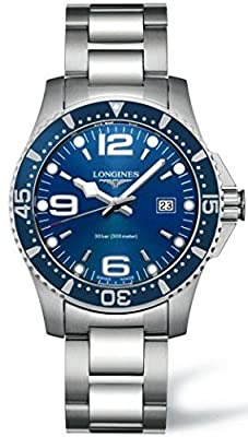 Longines HydroConquest Blue Dial Stainless Steel Mens Watch L3.640.4.96.6