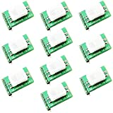 Optimus Electric 10pcs MTH02 Digital Temperature and Humidity Sensor Dew Point Calculator - Measure -40° to -70° C Temp and 18% to 98% RH for Microcontrollers Development Boards from