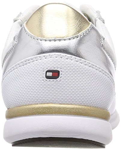 Light Tommy Basses EU Weight 36 Leather Femme Hilfiger Sneakers Sneaker FwZfwxPRq