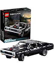 LEGO Technic Fast & Furious Dom's Dodge Charger 42111 Race Car Building Set