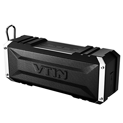 Vtin 20 Watt Waterproof Bluetooth Speaker, 25 Hours Playtime Portable Outdoor Bluetooth Speaker, Wireless Speaker for iPhone, Pool, Beach, Car, Home
