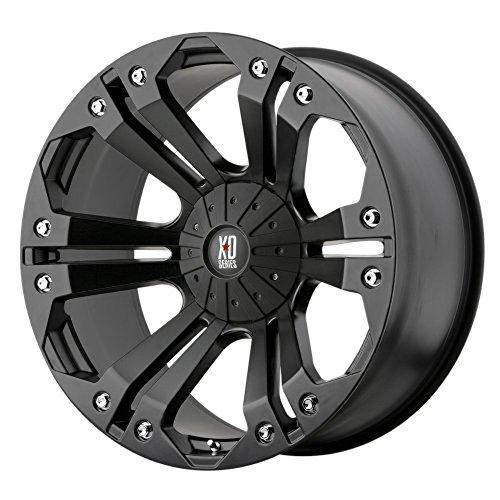 XD-Series Monster XD778 Matte Black Wheel (20x9'/5x5.5')