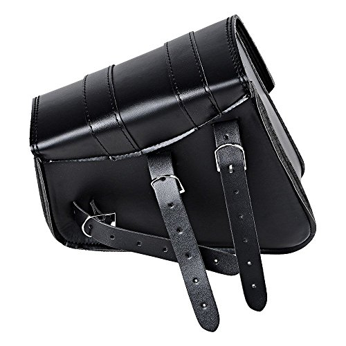 DLLL 1 Pair (Left & Right) Black PU Leather Right Solo Side