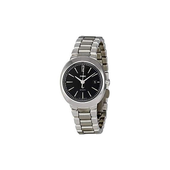 Rado - Reloj de pulsera mujer, acero inoxidable, color plateado: Amazon.es: Relojes
