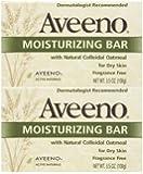 Aveeno Moisturizing Body Bar - Fragrance Free - 3.5 oz - 2 pk
