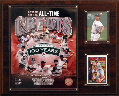 MLB  Boston Red Sox All -Time Great Photo Plaque