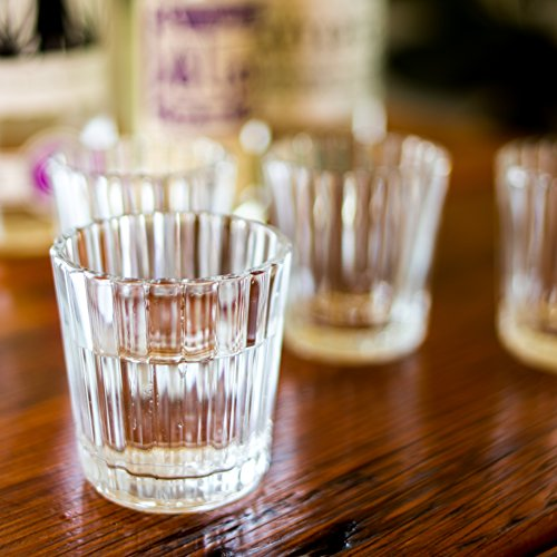 Mezcal Glasses | The Original & Traditional Glass for Mezcal or Tequila | Set of 4