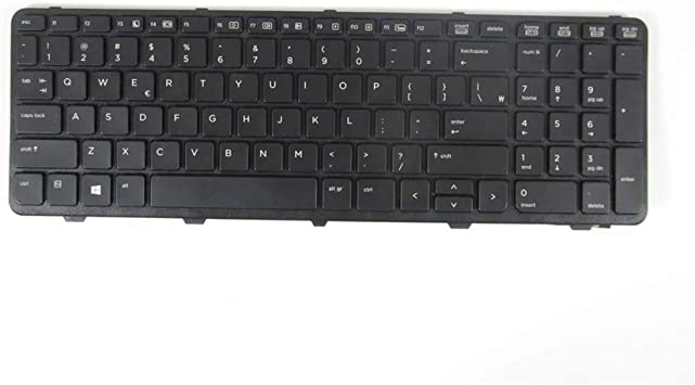 Original New For HP Probook 450 G1 US Black Keyboard No Frame
