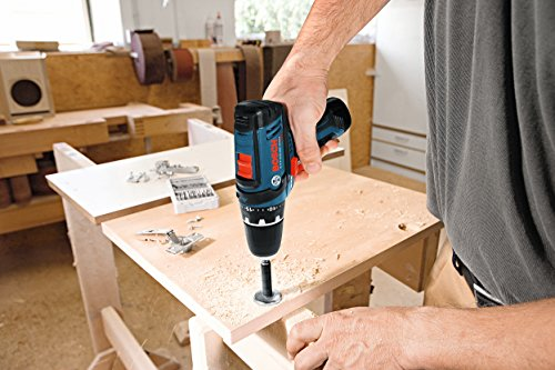 Bosch 12V 2-Speed Drill/Driver Kit and 12V Max LED Work Light w/ 2 Batteries, Charger and Case by Bosch (Image #3)