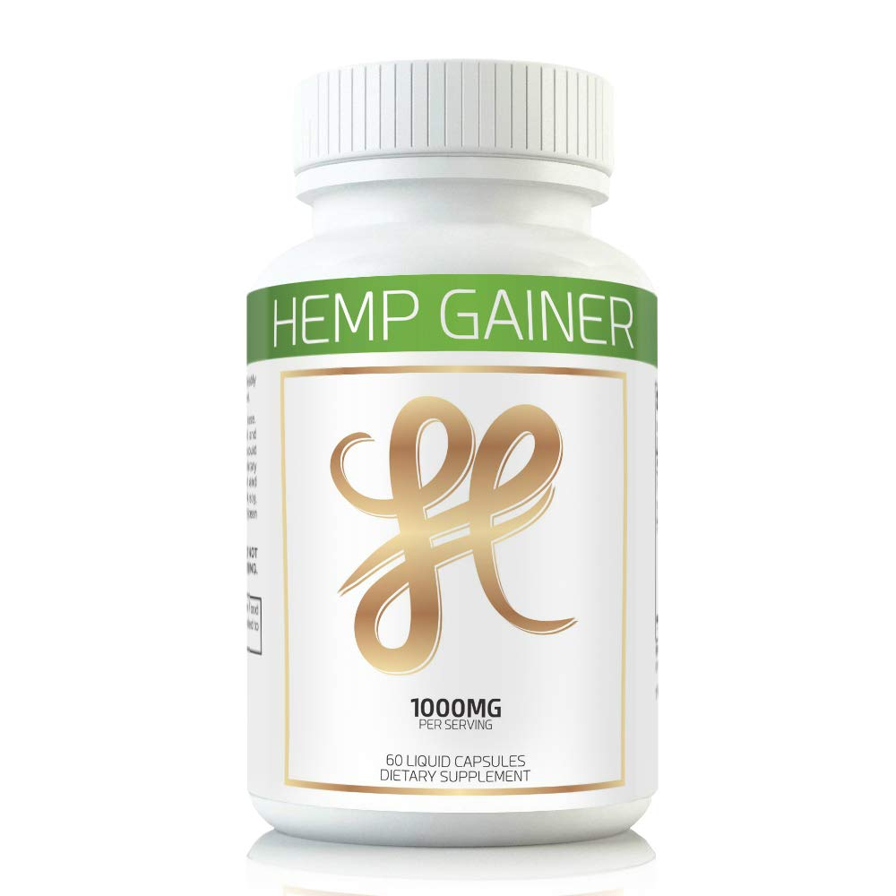 Hemp Weight Gaining Pills and Appetite Booster Will Help You GAIN Weight While You Sleep. Gain Weight Pills Help Appetite Increase Using The Weight GAIN Power of Hemp Oil. Weight Gain Pills for Women by Hemp Gainer