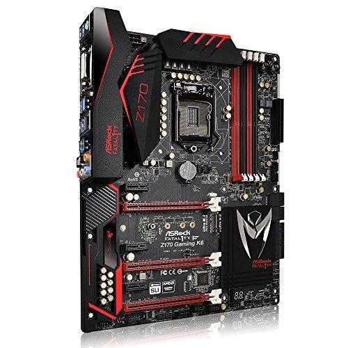 【即納!最大半額!】 ASRock ATX DDR4 Motherboards Z170 GAMING GAMING ATX K6 [並行輸入品] K6 B01LW7UCH9, おおかわカバン店:cacef11f --- arbimovel.dominiotemporario.com