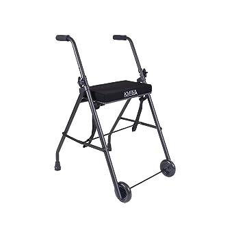 KMINA - Andador KMINA COMFORT 2 Ruedas, Andador para ancianos con ruedas, Andador con