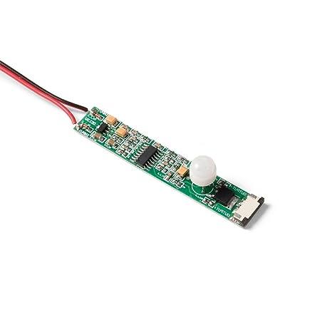 Emuca 5067120 rolflex/Proflex detector de movimiento para rodillo LED 8/10 mm