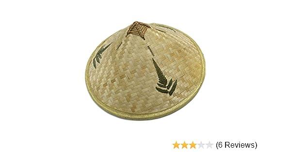 Retro Bamboo Rattan Fisherman Hat Handmade Weave Bucket Braid Sunshade Cap