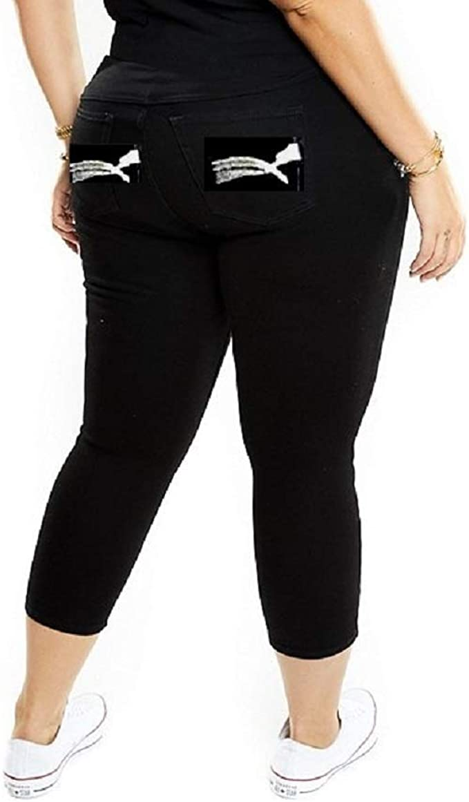 New Women/'s Plus Sizes 14-22 Jeans Denim Straight Leg Ladies Stretchy Pockets
