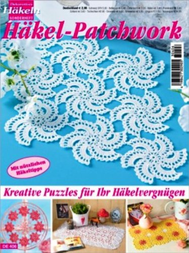 Oz Verlag Dekoratives Häkeln Häkel Patchwork De406 Amazonde