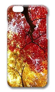 MOKSHOP Adorable autumn trees Hard Case Protective Shell Cell Phone Cover For Apple Iphone 6 Plus (5.5 Inch) - PC 3D