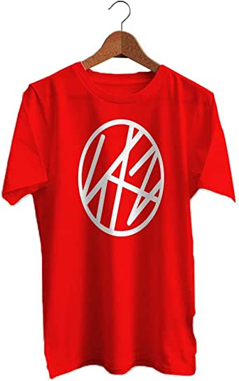 Red T-shirt Stray Kids design - Men
