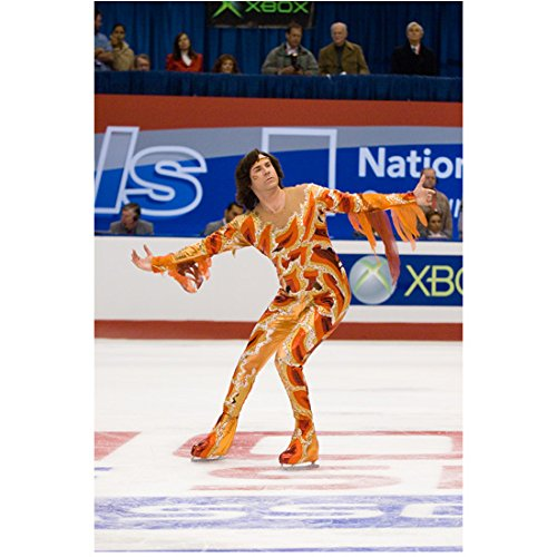 [Blades of Glory Will Ferrell as Chazz Michael Michaels in fire-toned costume on ice 8 x 10 Inch Photo] (Will Ferrell Semi Pro Costume)