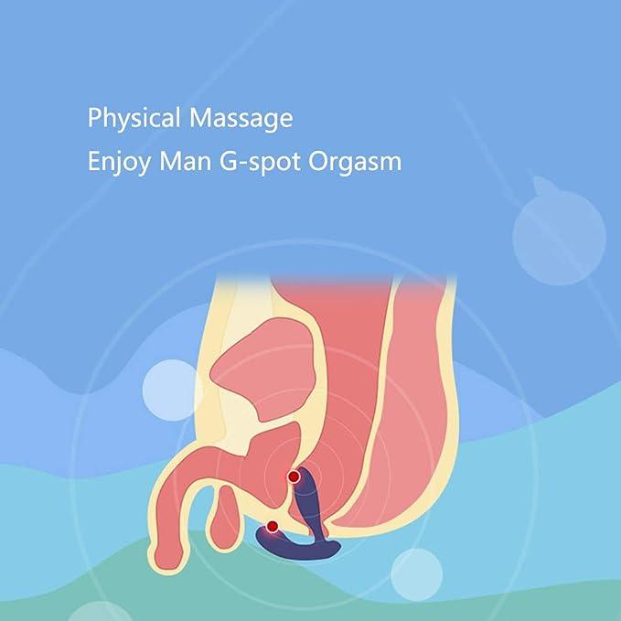 Masaje Próstata para Hombre Vibrador Estimulador de la ...