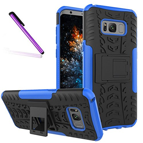 Tyre Pattern - Samsung S8 Case, Tyre Pattern Design Heavy Duty Tough Armor Extreme Protection Case With Kickstand Shock Absorbing Detachable 2 in 1 Case Cover For Samsung Galaxy S8 2017 (5.8