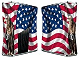 USA Flag Eagle Vinyl Decal Skin for Xbox360 & Remote Controllers