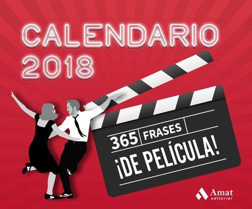 Calendario 365.Calendario 2018 365 Frases De Pelicula Amat Editorial