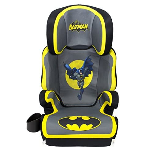 WB KidsEmbrace Belt Positioning High Back Booster Car Seat transitions to Backless Booster, Batman