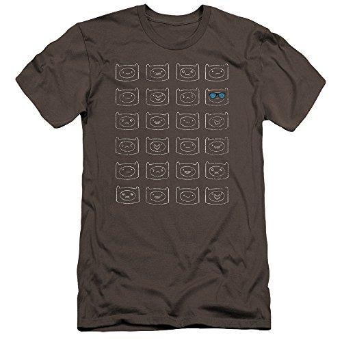 Faces T Curna Adventure Uomo Finn Premium Time Shirt Antracite n0WgR6v